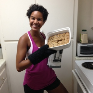 maggie with cookie bars